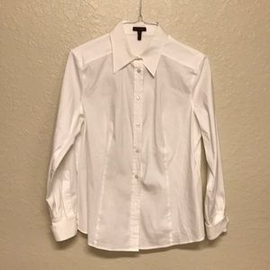 Escada button down blouse